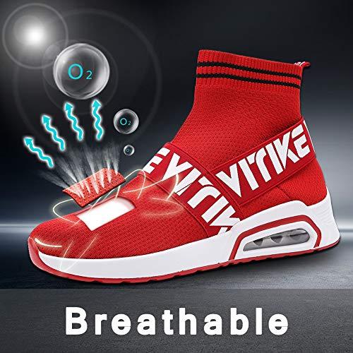 Hombre Deportivos Zapatillas Para Deportes Mujer De Hijos Zapatos E Padres Correr Running Calcetines AwAXqEr