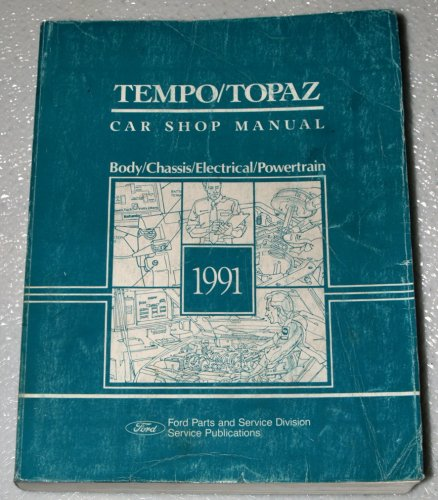 (1991 Ford Tempo / Mercury Topaz Shop Manual (Body/Chassis/Electrical/Powertrain))