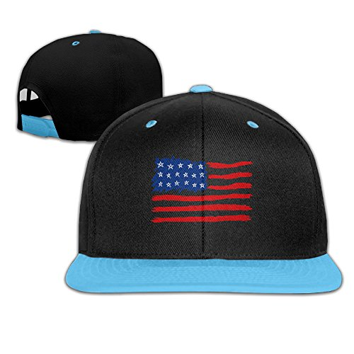 Retro American Flag Kid's Adjustable Hip-Hop Baseball Cap Snapback Cap Hat Mutiple - 4 Greensboro Seasons