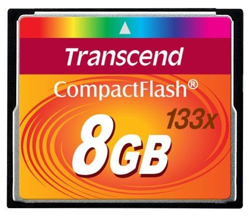 Transcend TS8GCF133 memoria flash - Tarjeta de memoria (8 GB ...