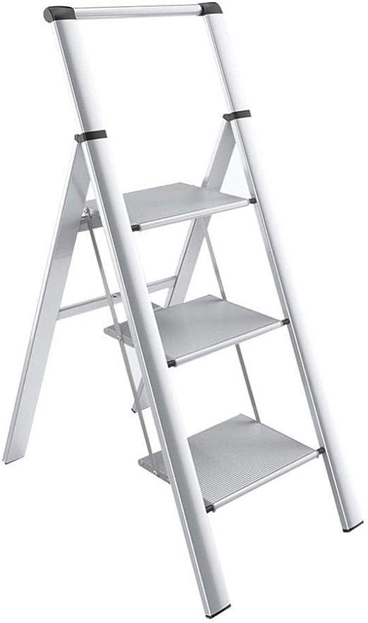 Heces escalonadas Escalera Plegable Escalera Escalera multifunción ...