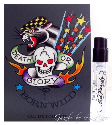 Ed Hardy BORN WILD Eau de Toilette EDT Cologne for Men ~ .05 fl. oz./1.52 mL Sample Spray (0.05 Ounce Edt)