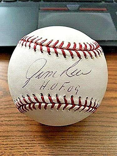 JIM RICE 2 SIGNED AUTOGRAPHED OML BASEBALL! Red Sox!
