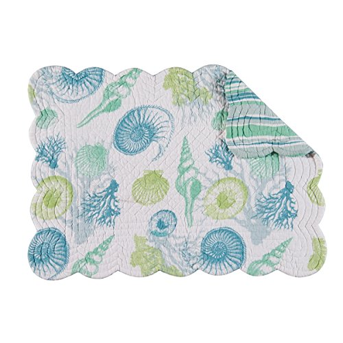 Quilted Multi Placemat (Set of 4 PCS, 13x19