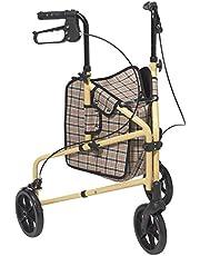 Drive Medical Winnie Lite Supreme 3 Wheel Walker Rollator, 1 Each 1 count