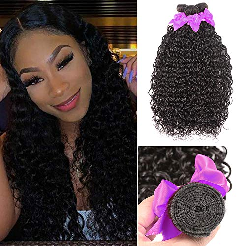 Water Wave 3 Bundles (16 18 20) Wet and Wavy Human Hair Bundles 100% Unprocessed Virgin Hair Ocean Weve Bundles Human Hair Extension (Best Hair Products For Wet And Wavy Weave)