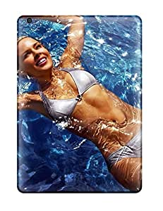 For Ipad Air Premium Tpu Cases Covers Swimming Pool Girl Protective Cases