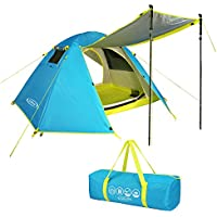 G4Free 2 Person Camping Backpacking Tent Lightweight...