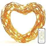 Eufy Starlit String Light Indoor and Outdoor Dimmable Warm White LED with Remote Control, IP20 Water-resistant...