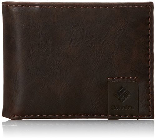Columbia Men's RFID Blocking Lofton Slimfold Security Wallet