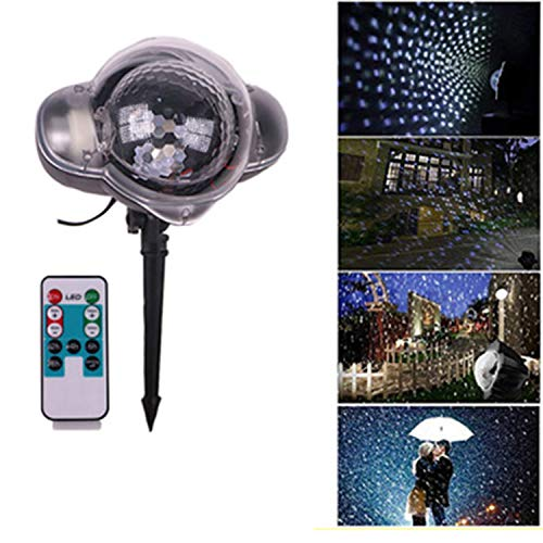 Low Voltage Projector Mini (LOVEPET Led Outdoor Waterproof Snowflake Projection Light Mini Snow Light Effect Light Stage Light Lawn Light Yard Garden Decoration Lamp)