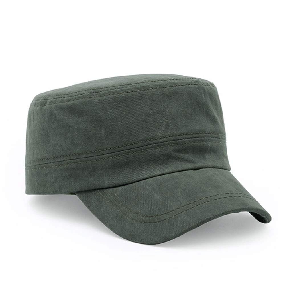 Vinteen Sombrero Macho Ocio Verano Gorra Militar Marea Juvenil Gorra de béisbol  Sombrero de Pato Color Sólido Tapa de Lengüeta Gorra Sombrero Tapa Superior  ... 0d1b4ffa53a
