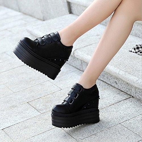 Junta XiaoGao grueso de Black centimetros de la deportes zapato el 13 zapatos fondo en de WRgUWFp