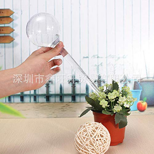 Self-Watering Feeder, Automatic Plant Water Control Drip Flower Watering System PVC Ball for Gardening, Transparent Winbang