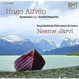 Hugo Alfven: Symphonies Nos. 1-5; Swedish Rhapsodies [Box Set]