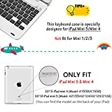 ONHI Wireless Keyboard Case for iPad Mini 5