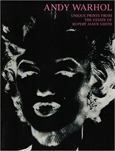 andy warhol unique prints from the estate of rupert jasen smith