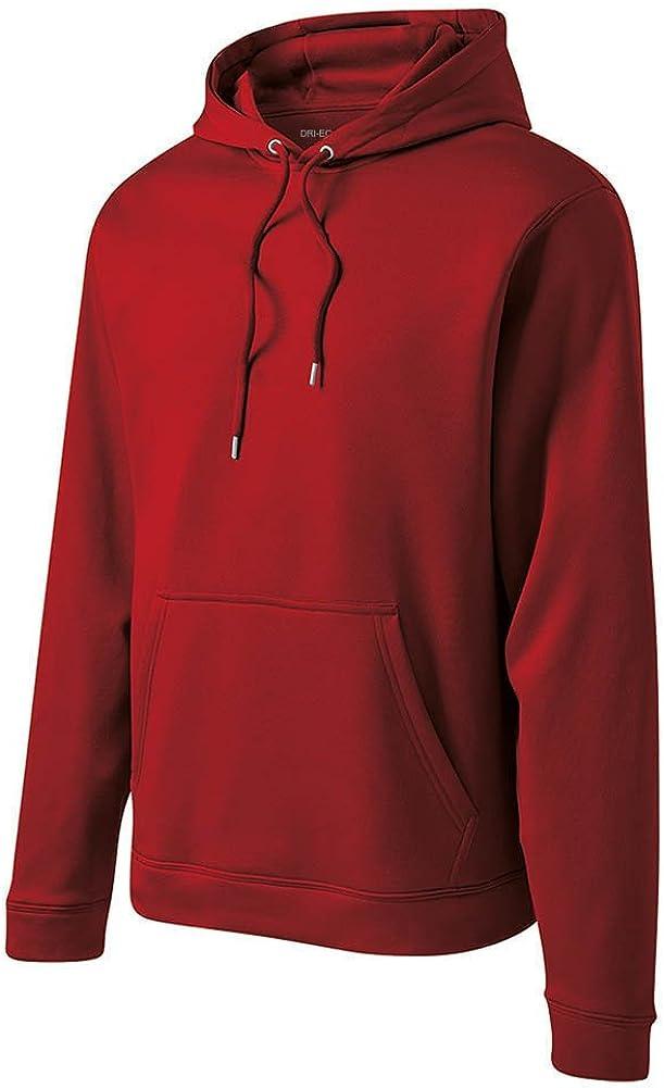 DRIEQUIP Moisture Wick Fleece Hooded Pullover Sizes XS-4XL