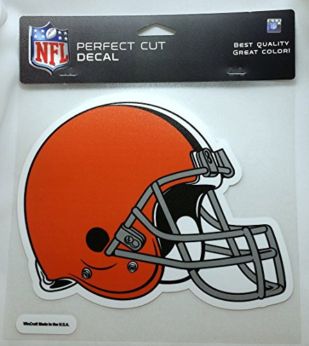 WinCraft NFL Cleveland Browns Die-Cut Color Decal, 8