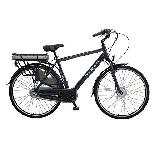 Hollandia Evado Electric City Commuter Bicycle, 3-Speed, 19