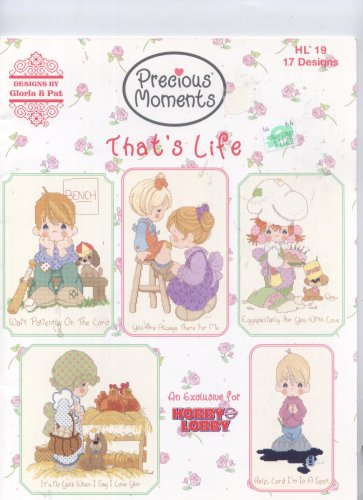 Precious Moments That's Life Cross Stitch 17 Designs