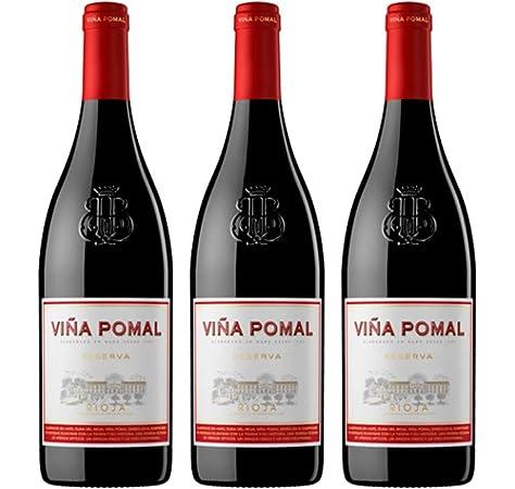 Viña Pomal   Vino Tinto Reserva Viña Pomal   Bodegas Bilbaínas   D.O.Ca. Rioja   Caja de 6 botellas de 75 cl: Amazon.es: Alimentación y bebidas