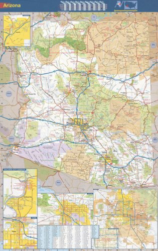 Download 36x56 Arizona State Official Executive Laminated Wall Map pdf