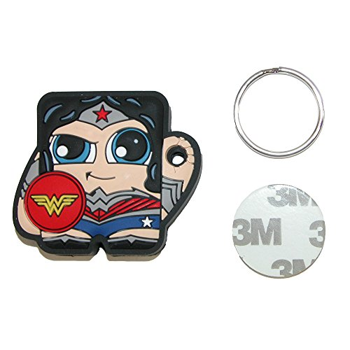 Foundmi DC Comics New 52 Wonder Woman App Enabled Bluetooth Tracking Tag (Best Comic App Android)