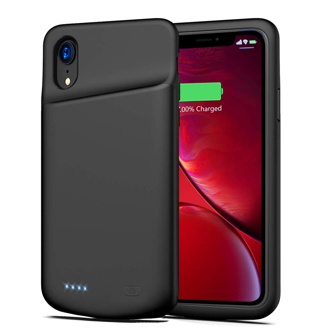 Funda Con Bateria de 6000mah para Apple Iphone Xr FNSON [7PYX9NBG]