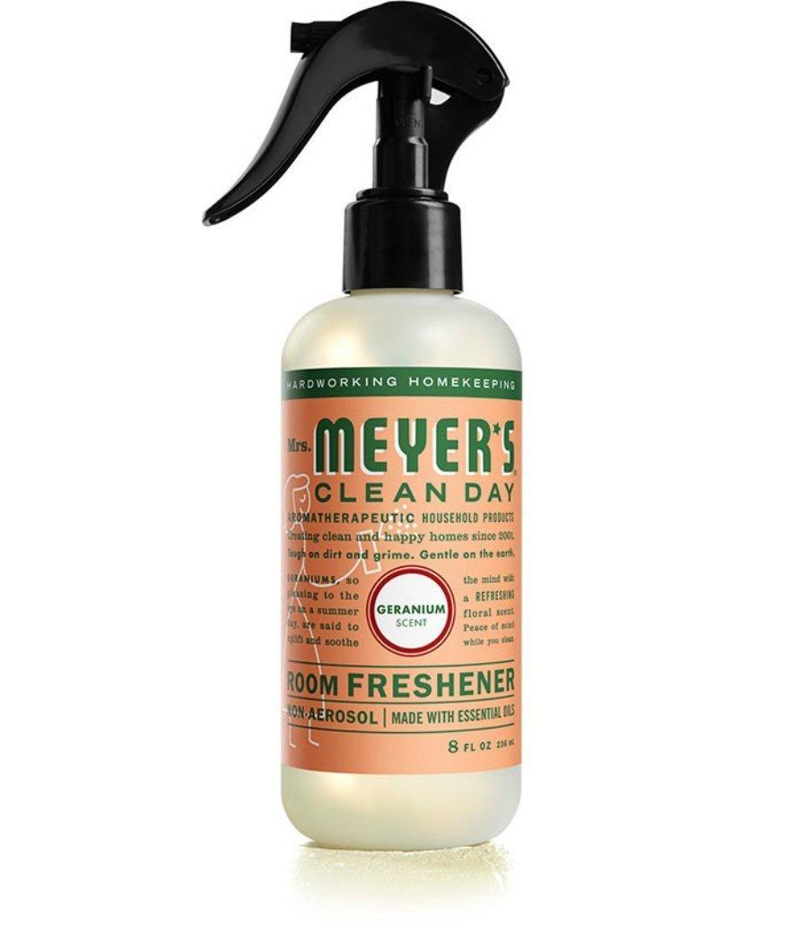 Mrs. Meyer's Room Freshener, 8 OZ (Geranium, Pack - 2)