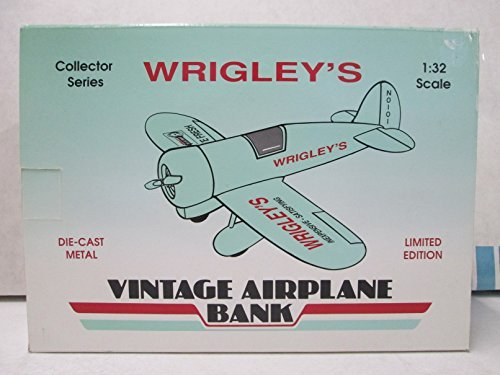 Airplane Bank (Spec Cast Wrigley's Vintage Airplane Bank 1:32)