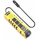 Car Power Inverter DC 12V to AC 110V With Dual USB Port 4.2A high-speed Charger and Cigarette Lighter Adapter by CATBO