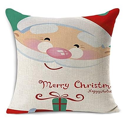 Amazon.com: MAYUAN520 Cushion、Decorative Pillows Christmas ...