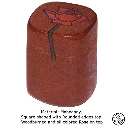 Ring Boxes made with Mahogany by DJS Treasure Chests