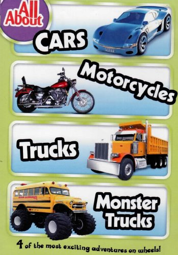 All About Trucks >> Amazon Com All About Cars Motorcycles Trucks Monster Trucks