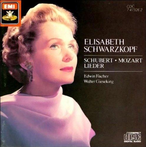 Price comparison product image Elizabeth Schwarzkopf: Schubert & Mozart Lieder