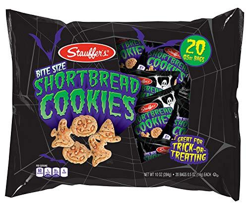 Stauffer's Halloween Snack Packs, 0.50 oz. Bags (Set of 40) (Shortbread Cookies) -
