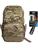 Vertx EDC Ready Pack Versatile Daily use Backpack Multicam with a  Lumintrail Keychain Flashlight 42c0b529eaa78