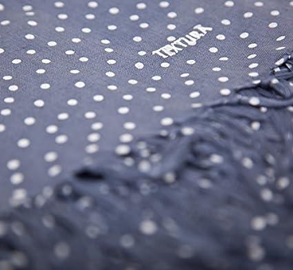 Textura - Toalla cuba AZUL MARINO 200X200