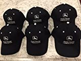 "John Deere Landscapes ""NEW"" Black Collectible Hats (Lot of 6)"