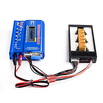 Hobby-Ace XT60 LiPo Battery Balance Charging Board Plate 2-6S Parallel Connect Plate: Toys & Games