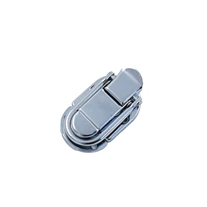 b6451852af Amazon.com: (D64) 1 Nickel Drawbolt Closure Latch for Guitar Case /musical  cases: Musical Instruments