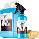 Shine Society Glass and Window Cleaner, 100% All-Natural Anti Streak Formula, Made for Tinted and Non-Tinted Car Windows (Value Pack)