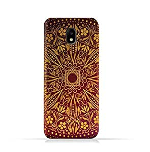 Samsung Galaxy J3 2017 TPU Silicone Case with Floral Pattern 1201 Design