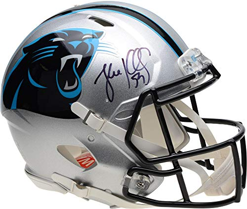 Luke Kuechly Carolina Panthers Autographed Riddell Speed Authentic Helmet - Fanatics Authentic Certified