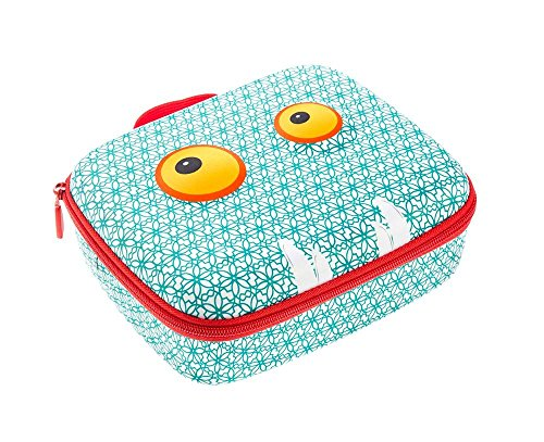 ZIPIT Beast Lunch Box, Blue Photo #4