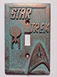 Star Trek Stone/Copper/Patina Light Switch Cover (Custom) (Copper/Patina)