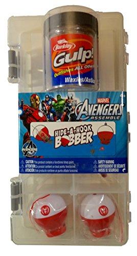 Shakespeare Marvel Avengers Hide-A-Hook Bobber Fishing Accessory Kit