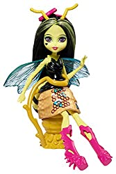 Monster High Garden Ghouls Winged Critters Beetrice Doll, 5.25""