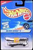 Mattel Hot Wheels 1996 1:64 Scale Silver Series II Chrome Oscar Mayer Wienermobile Die Cast Car 4/4
